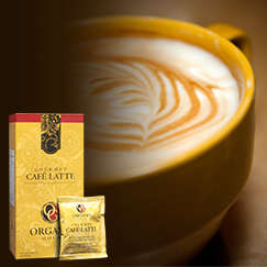 Gourmet Cafe Latte from Organo Gold. Try it today. Click here http://bit.ly/1iUgBgd